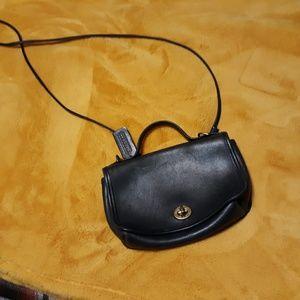 Vintage Leather Coach Crossbody